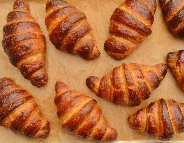 Quicker croissants