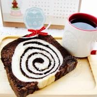black diamond cake toast ~ it's good! 黒钻蛋糕吐司~超好吃!