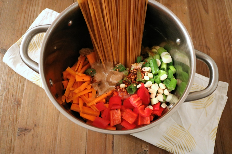 One-Pot Thai Noodles