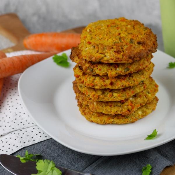 Kichererbsen-Karotten Puffer (1 von 5)