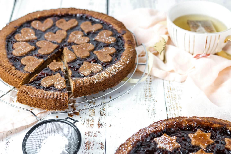 Rezept für vegane Linzertorte auf www.Bakinglifestories.com