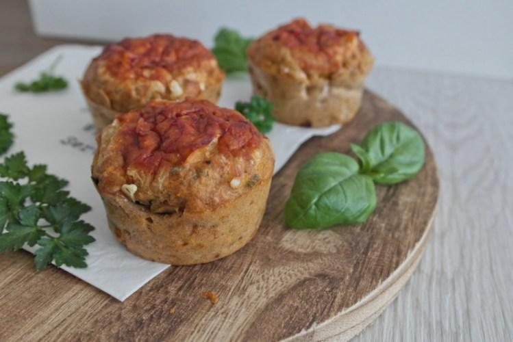 Bürolunch #5: Herzhafte Pizza-Muffins