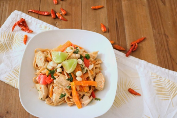 One Pot Pasta – Thai Style