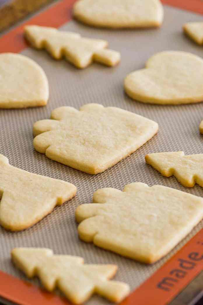 Small Batch Of Cut Out Sugar Cookies No Chill Baking Mischief