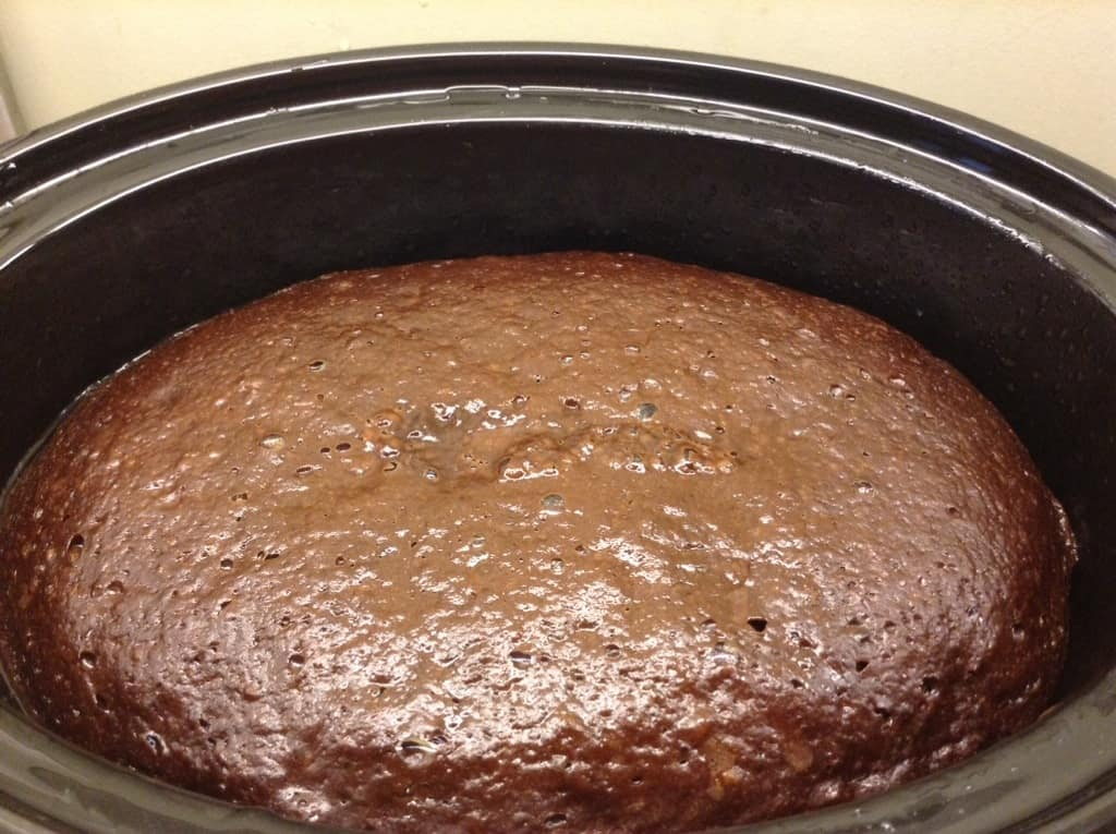 Slow Cooker Chocolate Orange Self-Saucing Pudding by BakingQueen74
