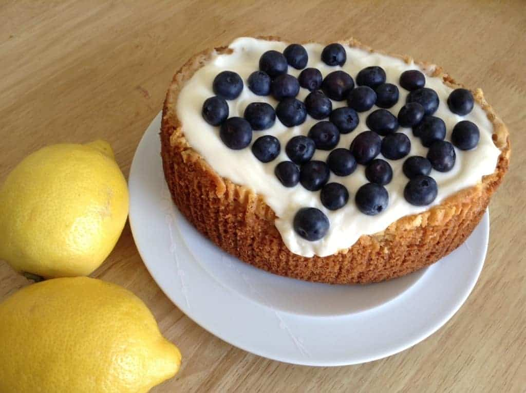 Slow Cooker White Chocolate and Lemon Cake by BakingQueen74