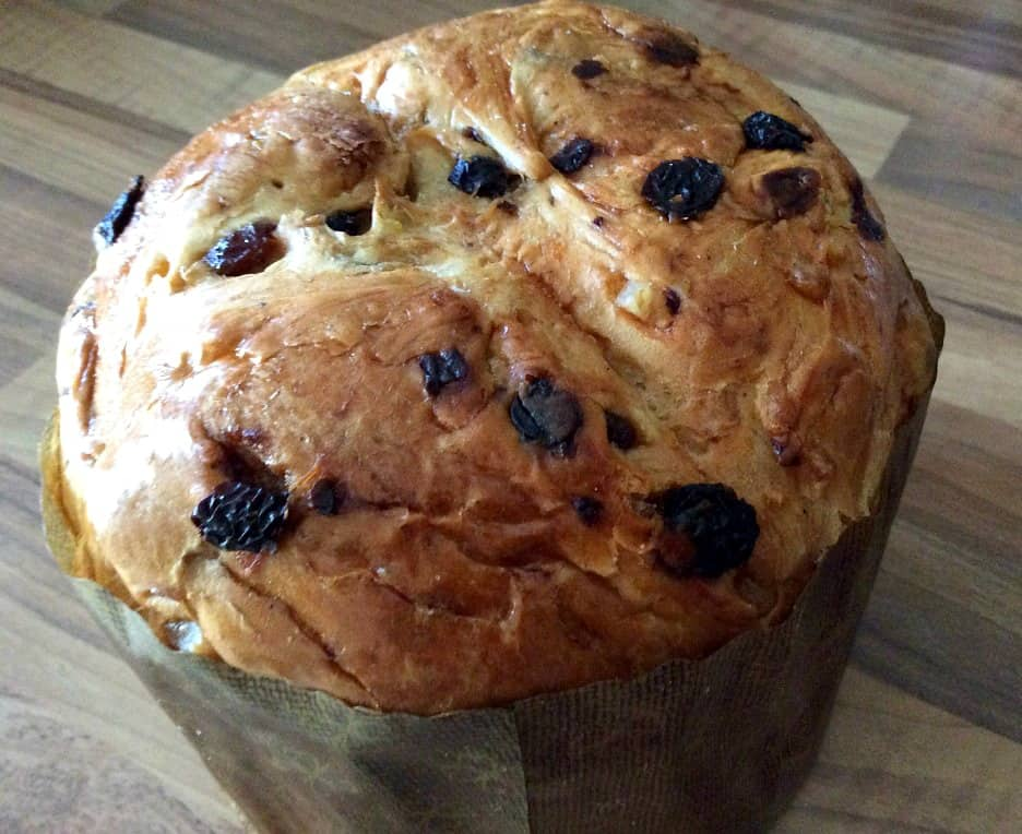Slow Cooker Panettone Bread and Butter Pudding