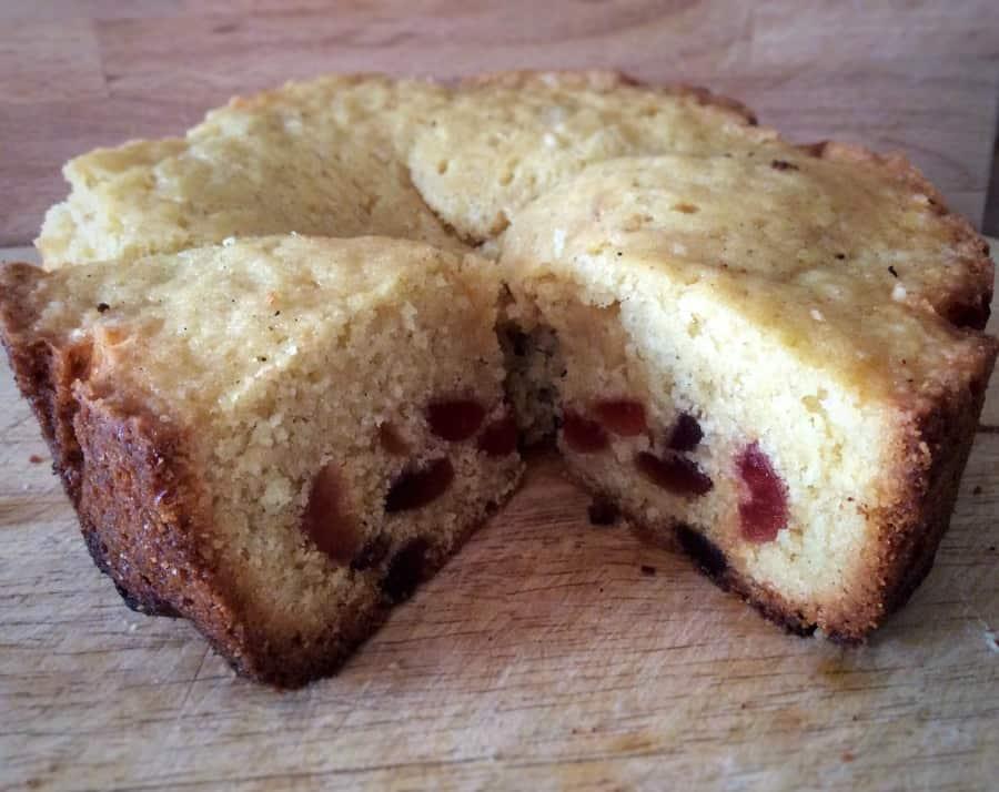 Slow cooker cherry cake recipe
