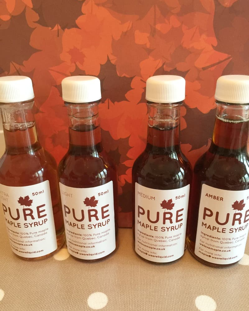 Pure Maple syrup from Canada