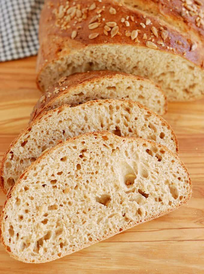 Cracked wheat bread - Baking Sense