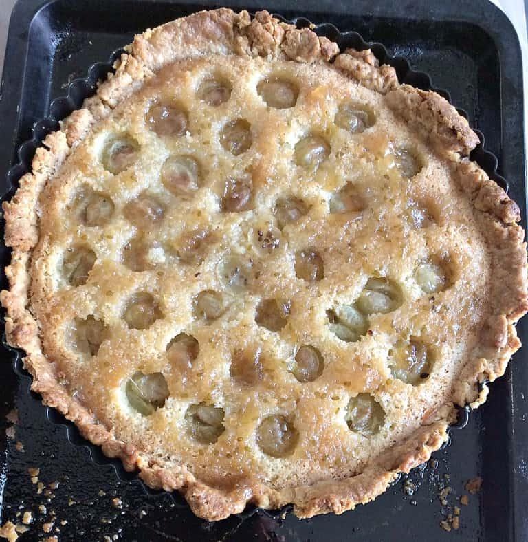 Gooseberry frangipane tart - my 2015 GBBO bakes