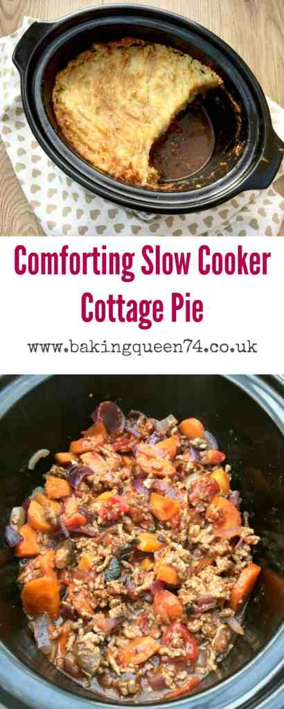 Slow cooker cottage pie - an easy recipe that will be a firm favourite with your family