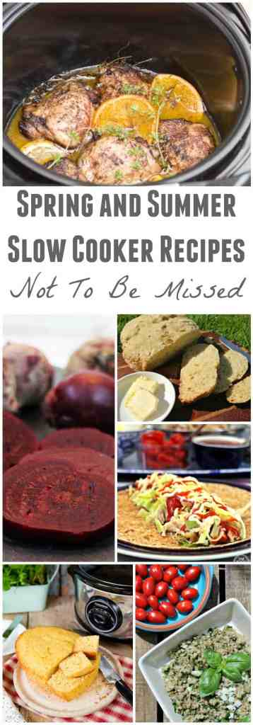 Spring and Summer Slow Cooker Recipes Not To Be Missed