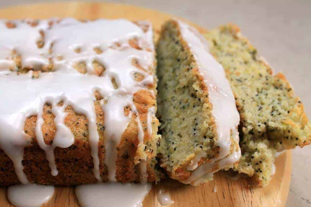 Courgette and Poppy Seed Loaf Cake from Veggie Desserts + Cakes