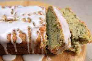 Courgette (zucchini) and poppyseed loaf cake from Veggie Desserts