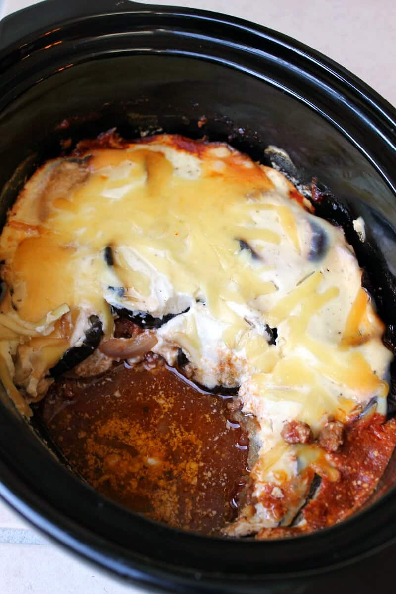 Slow Cooker Moussaka - Family Slow Cooker Recipes
