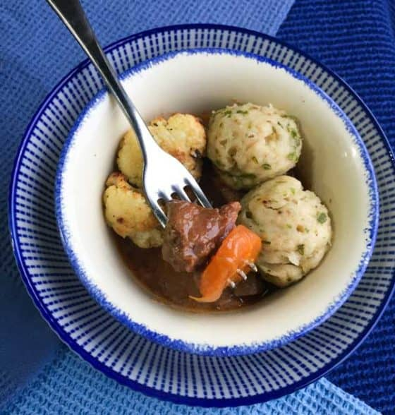 Tips for the best crockpot beef stew and dumplings from Farmersgirl Kitchen