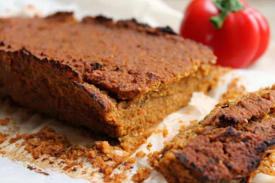 Chickpea and Veggie Meatloaf