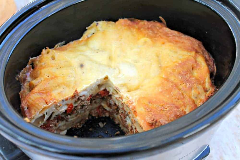 Slow Cooker Pastitsio – a Greek-inspired Dish