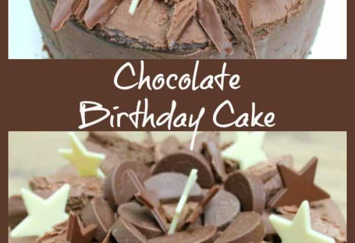 Chocolate Birthday Cake Bakingqueen74
