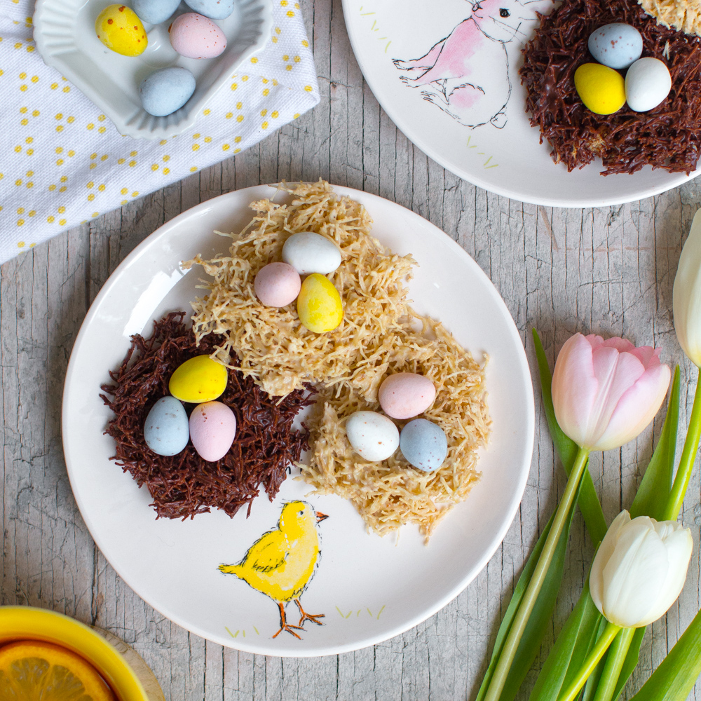 Easter Egg Cakes Shredded Wheat