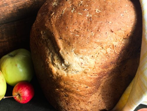 Full loaf of Apple Oatmeal Bread