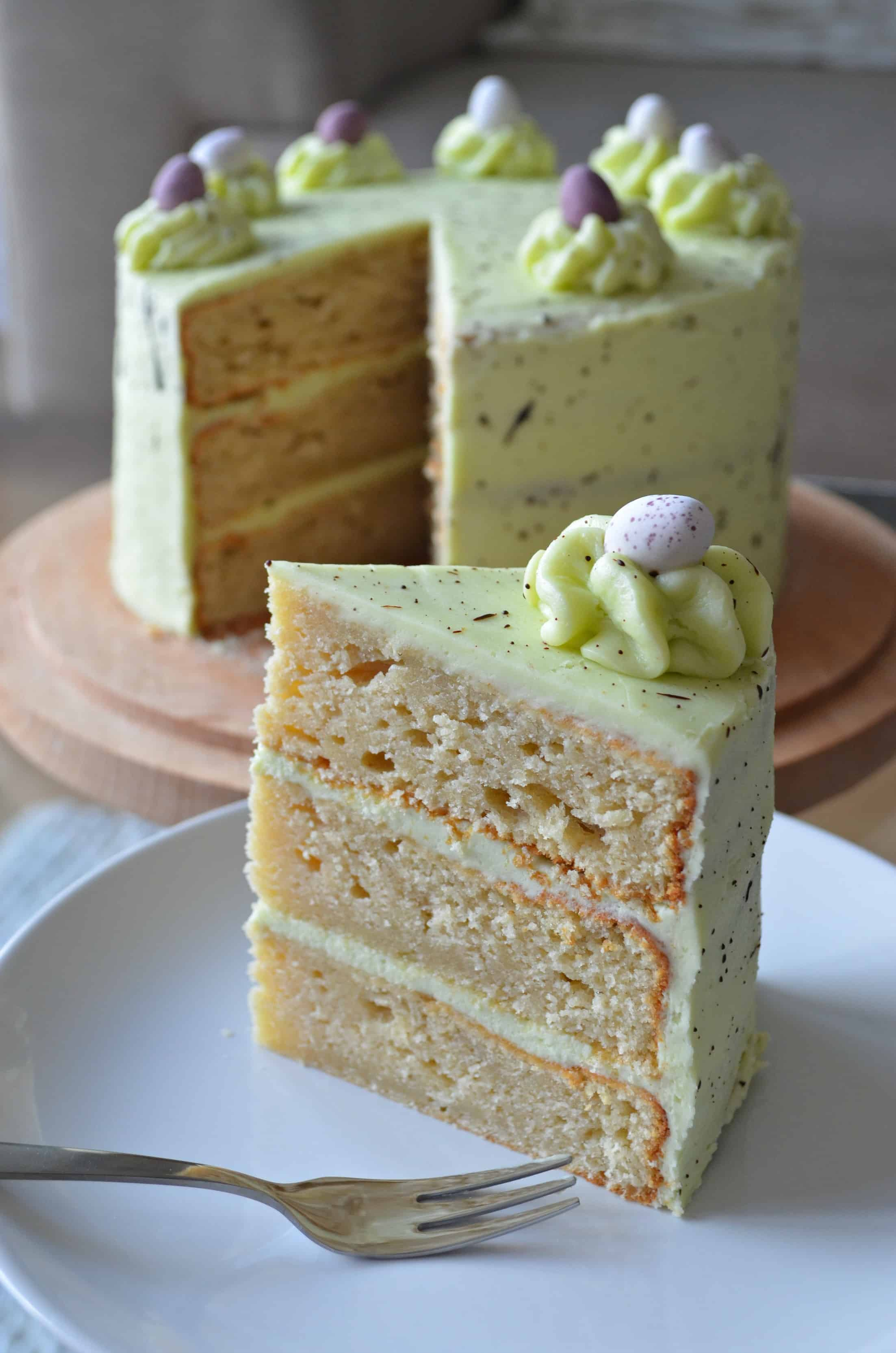 Speckled Egg Layer Cake