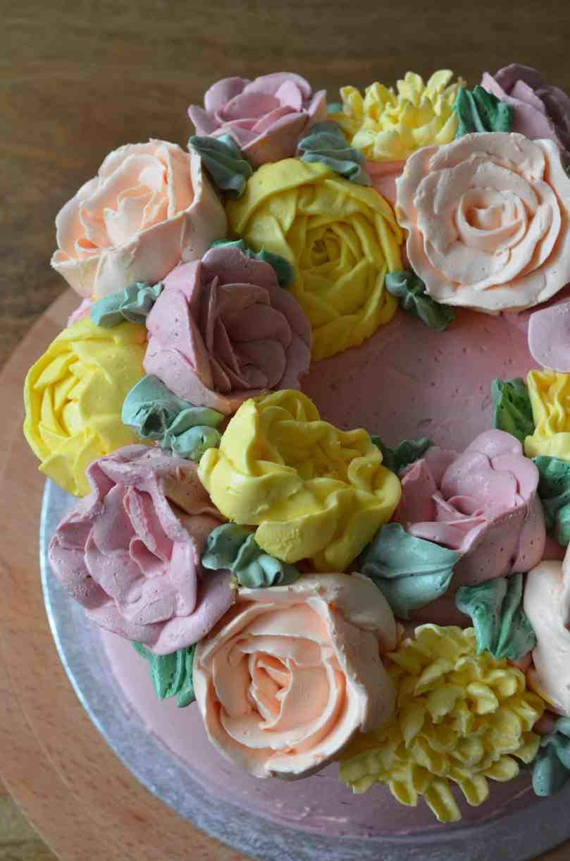 buttercream flower