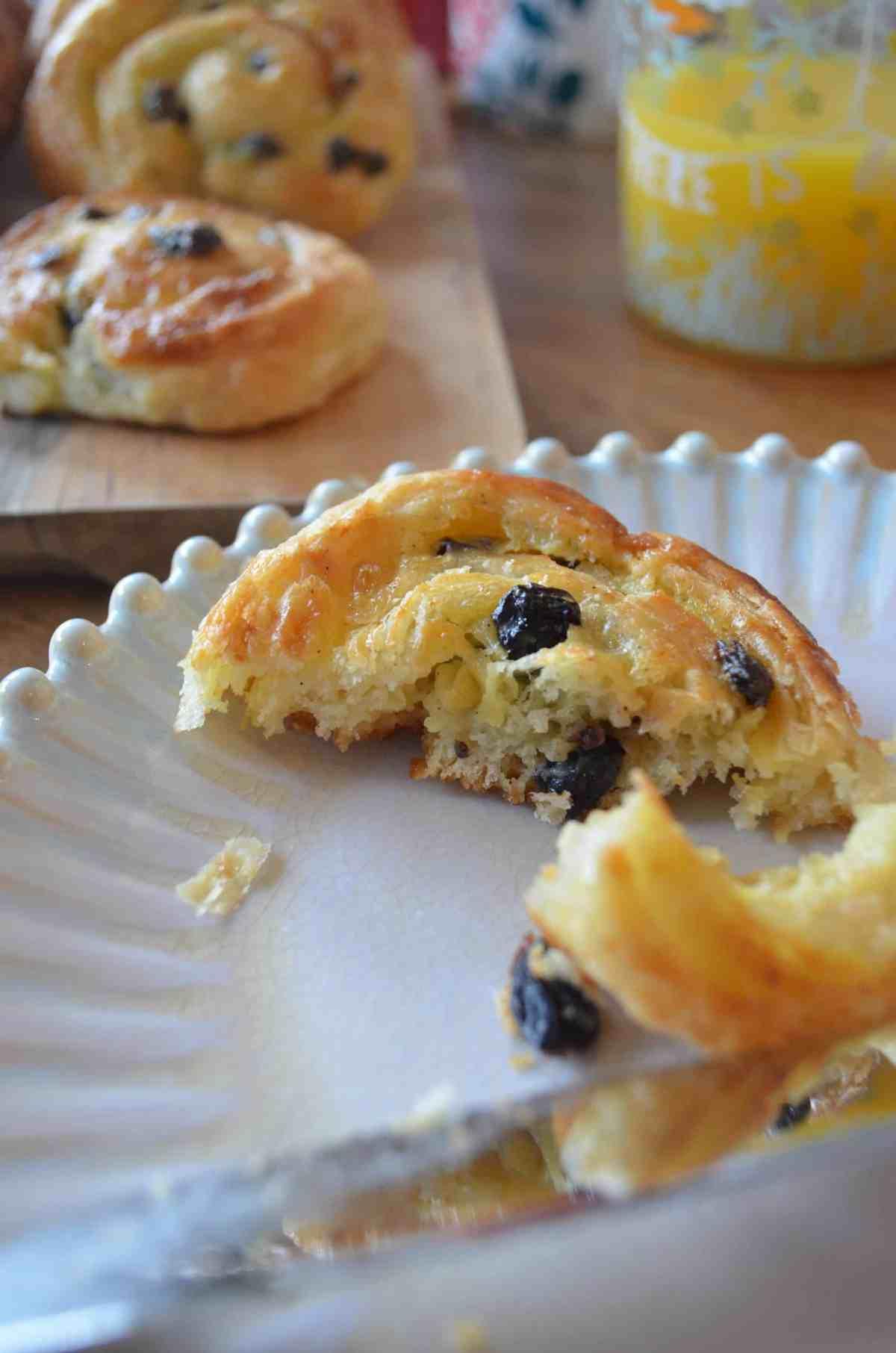 pain au raisins