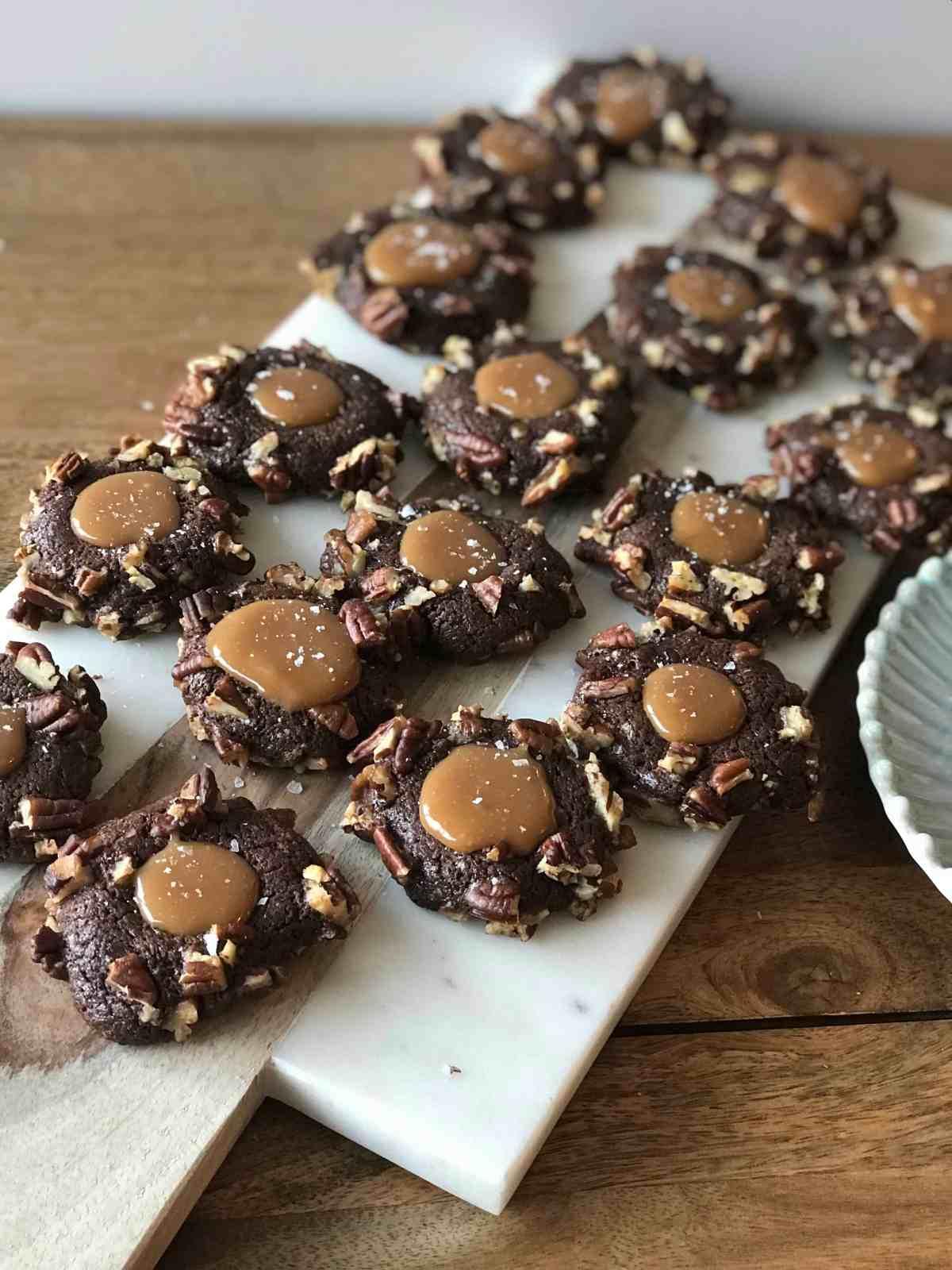 salted turtle cookies