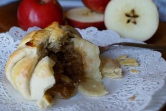 Apple dumplings with a twist