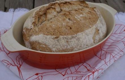 Wheat--rye bread with kefir