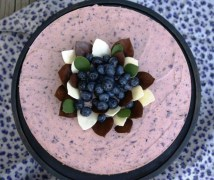 Blueberry-yogurt cake