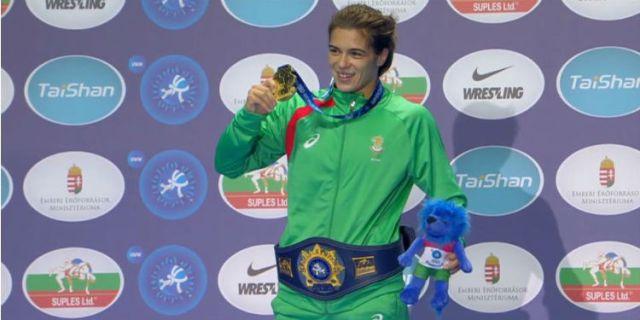 Avrupa Şampiyonu Taybe Hüseyin ile ilgili görsel sonucu