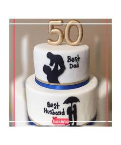Dad Birthday Cakes In Lahore Send Birthday Gift Same Day
