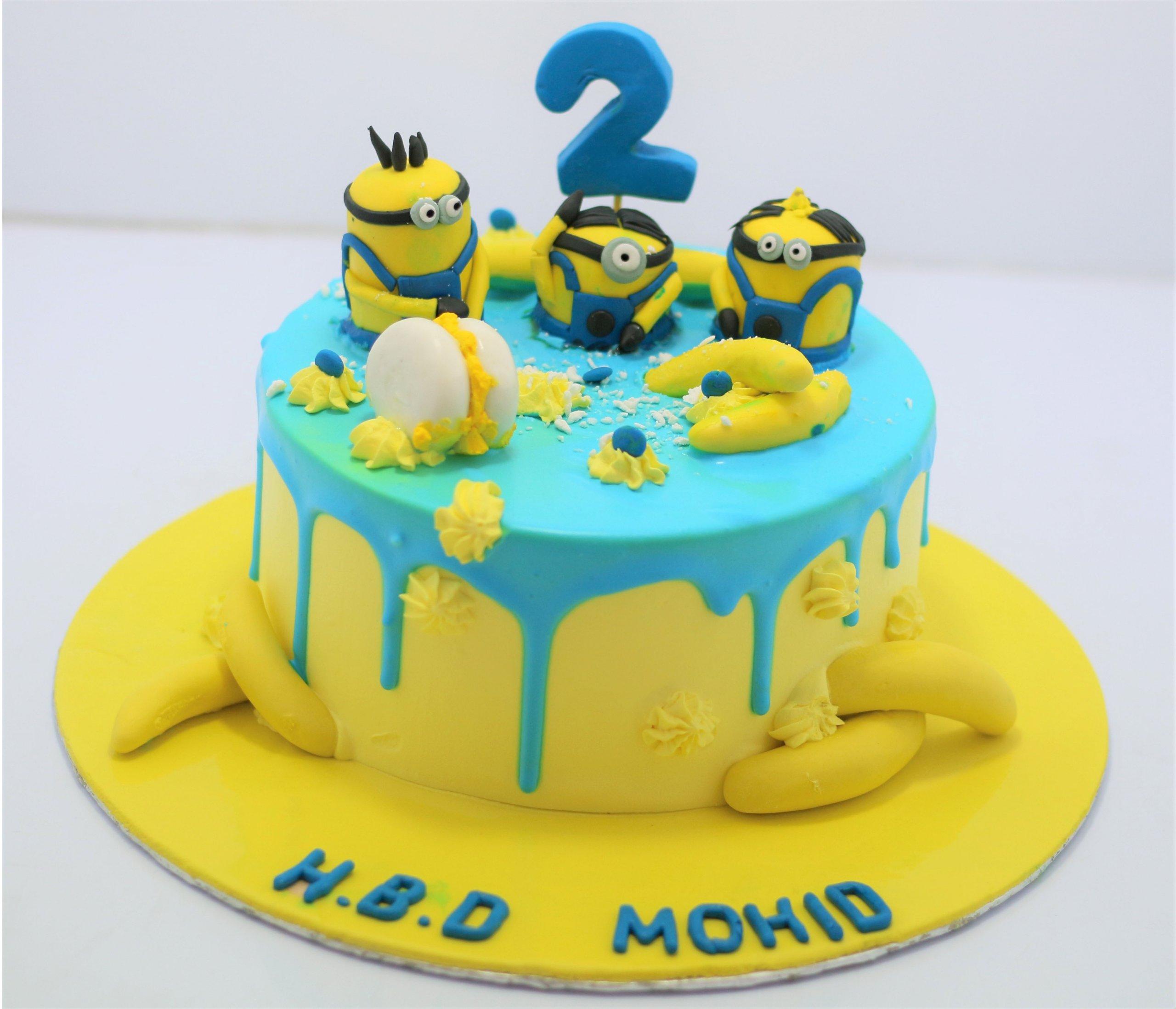 Brilliant Minion Birthday Cake Send Gifts To Pakistan From Canada Funny Birthday Cards Online Elaedamsfinfo