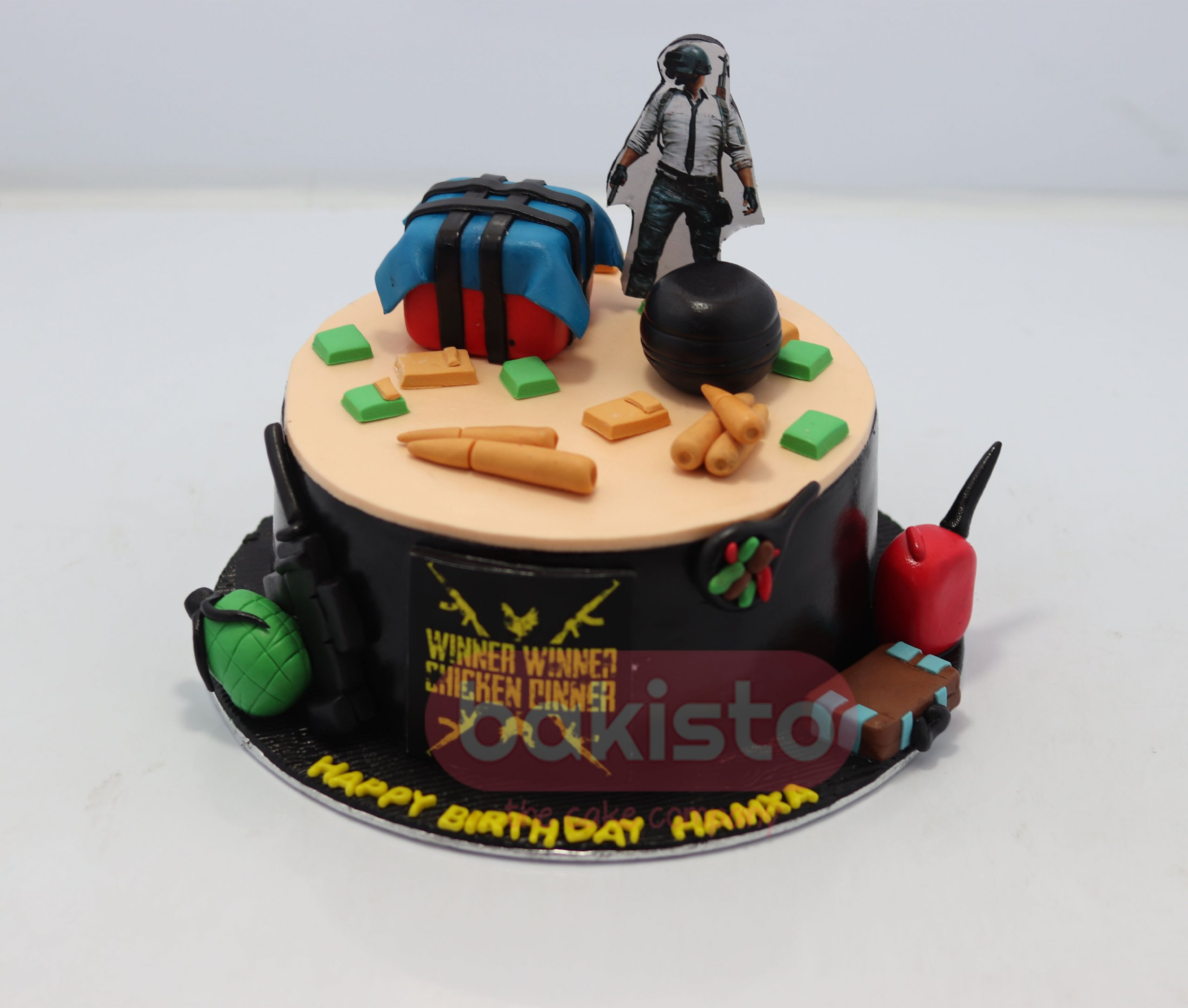 Pubg Birthday Theme Cake In Lahore From Bakisto