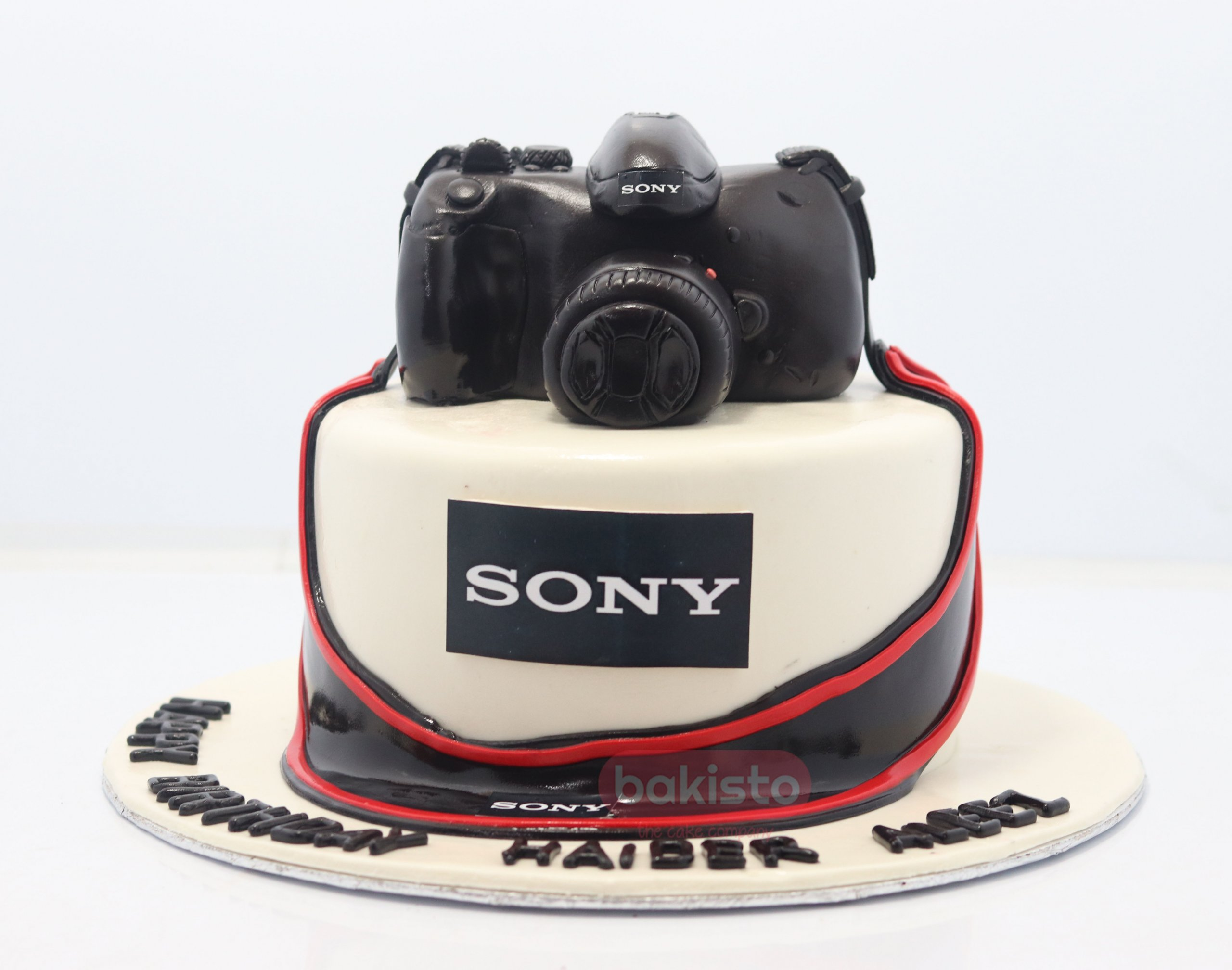 Surprising Customized Camera Cake By Bakisto The Cake Company With Logo Funny Birthday Cards Online Benoljebrpdamsfinfo