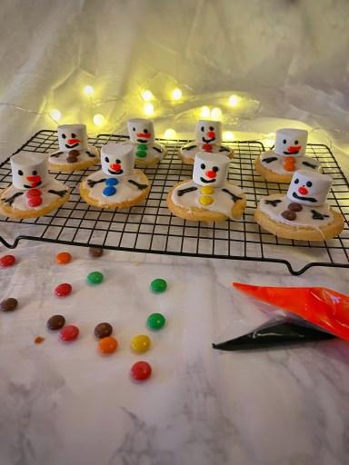 sneeuwpopkoekjes