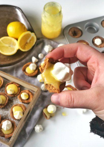 Thumbnail for Cookiecups met Lemon Curd en Meringue
