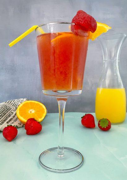 Thumbnail for Flirt on the Beach Mocktail met Sinaasappelsap