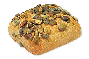 Pompoenpitten broodje
