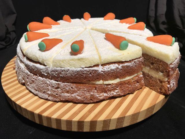 Bakkerij van eigen deeg - Carot cake - Worteltaart