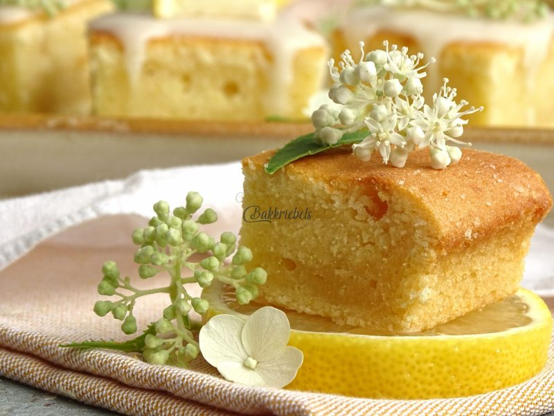 Limoncello Cream Brownie