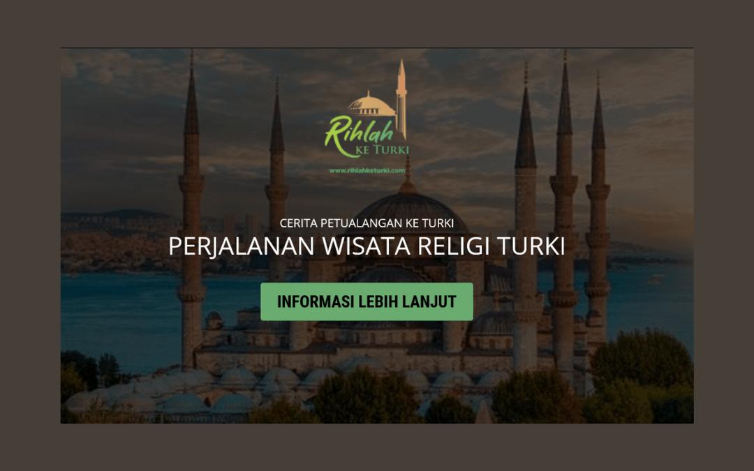 portfolio website rihlahketurki