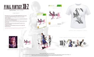 Final Fantasy XIII-2 Edición Crystal Xbox 360