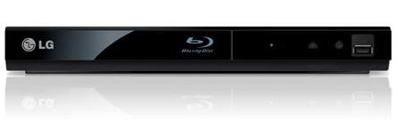 LG Electronics BP125 - Reproductor Blu Ray, DVD, USB 2.0, HDMI 1.4, 27 cm