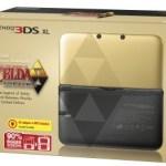 Nintendo 3DS Consola XL (Edición Especial Limitada Zelda) + Zelda: Link Between Worlds