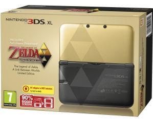 Nintendo 3DS XL zelda a link between worlds_bakoneth