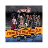 Zombicide 4 Toxic City Mall game tiles